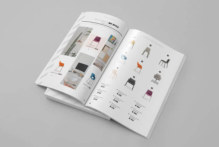 Dynamic InDesign Catalog Templates Preview