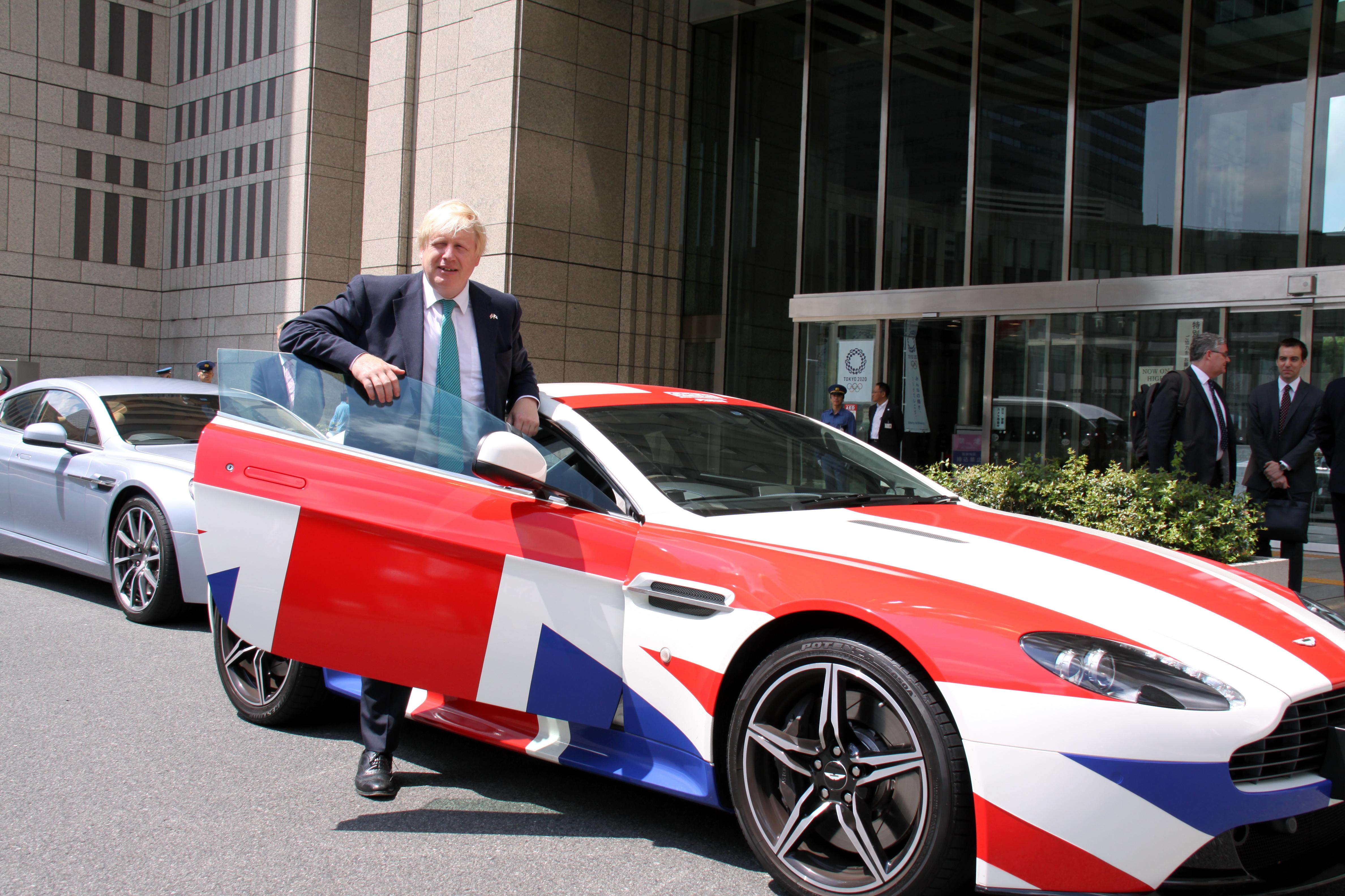 Boris Johnson inJapan.Image: Foreign Office/Wikimedia