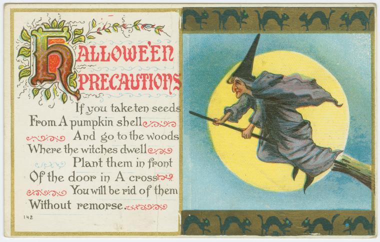 Postcard, America, early 20th century. Source: New York Public Library