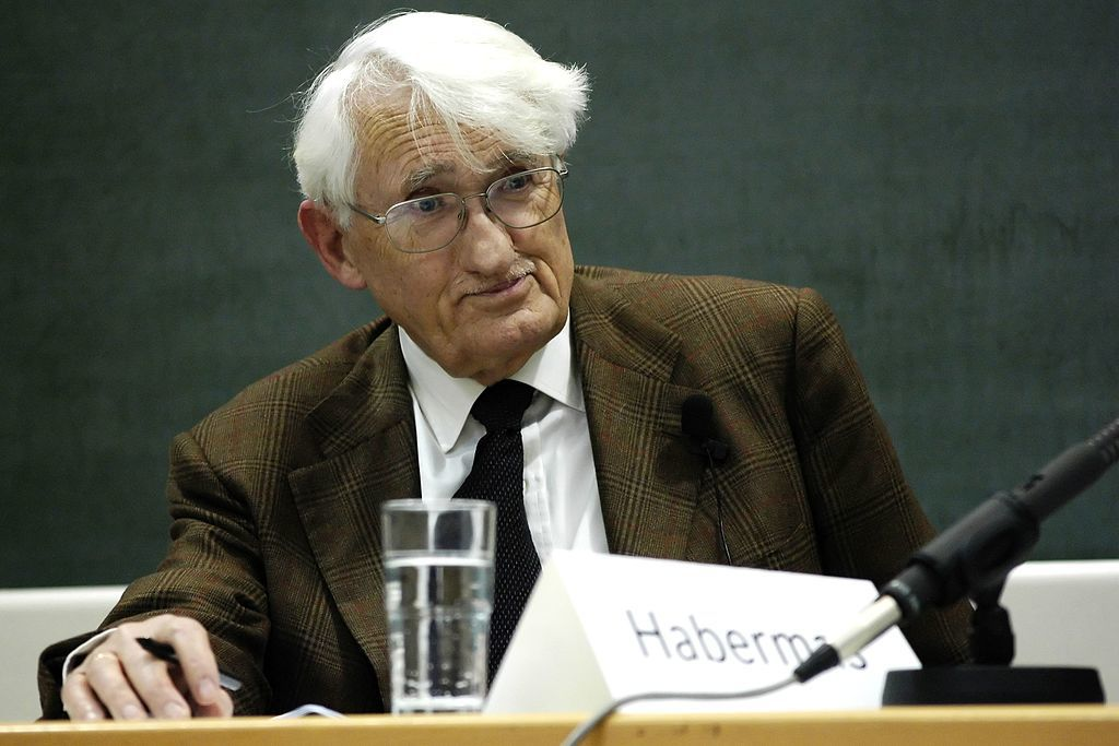 Jürgen Habermas. Photo: Wikimedia Commons