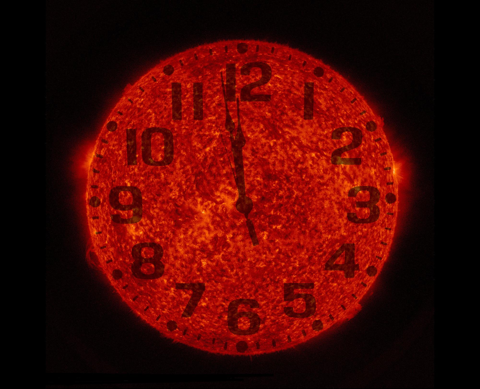 Dommedagsklokka (Foto: NASA Goddard Photo and Video/Flickr)