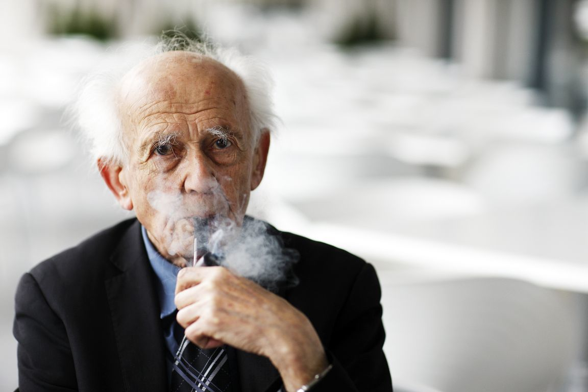 Polish sociologist and social theorist Zygmunt Bauman, Professor Emeritus at the University of Leeds. Photo: M. Olivia Soto, CC