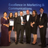 We've won! Excellence in Marketing & Communications at the Law Society Excellence Awards