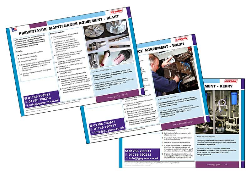 Maintenance Leaflets