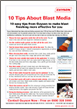 Guyson Blast Media Top Ten Tips