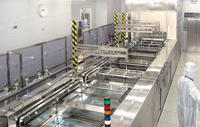 Supercleaner in cleanroom