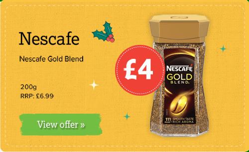 Nescafe Gold Blend 200g £4