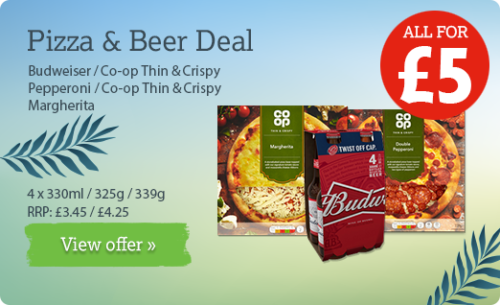 Beer & Pizza Deal