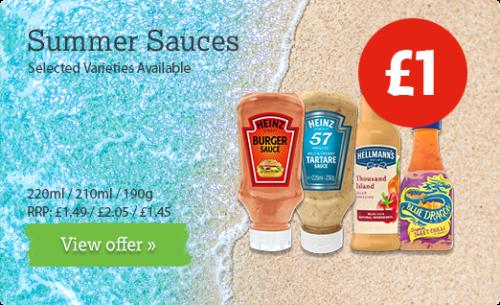 Summer Sauces