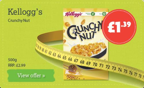 Kellogg's Crunchy Nut - 500g