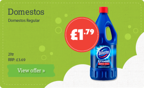 Domestos Regular - 2ltr - RRP: £3.69