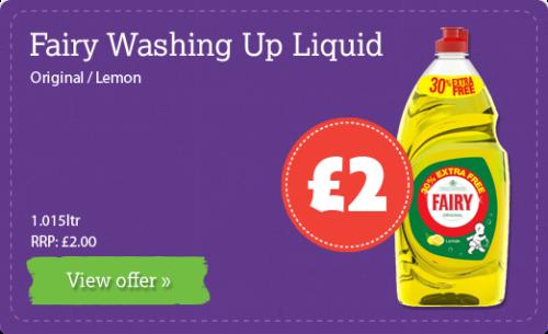 Fairy Washing Up Liquid Original / Lemon - 1.015ltr