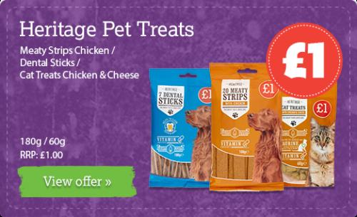 Meaty Strips Chicken / Dental Sticks / Cat Treats Chicken & Cheese - 180g / 60g RRP: £1.00