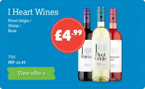 Pinot Grigio /  Shiraz / Rose - 75cl - RRP: £6.49