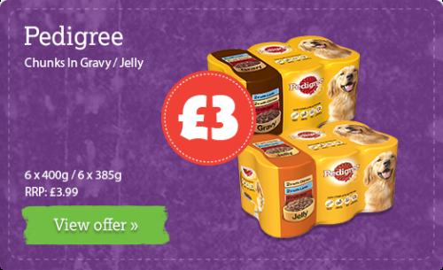 Chunks In Gravy / Jelly - 6 x 400g / 6 x 385g RRP: £3.99