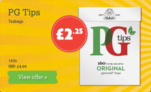 PG Tips Teabags - 160s