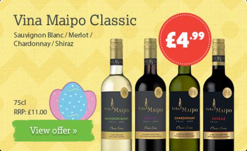 Sauvignon Blanc / Merlot / Chardonnay / Shiraz - 75cl RRP: £11.00