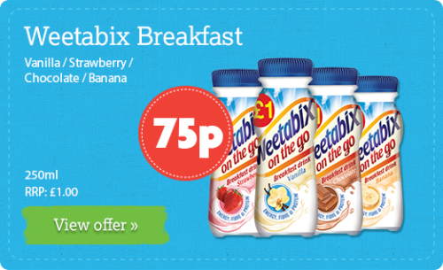 Weetabix Breakfast