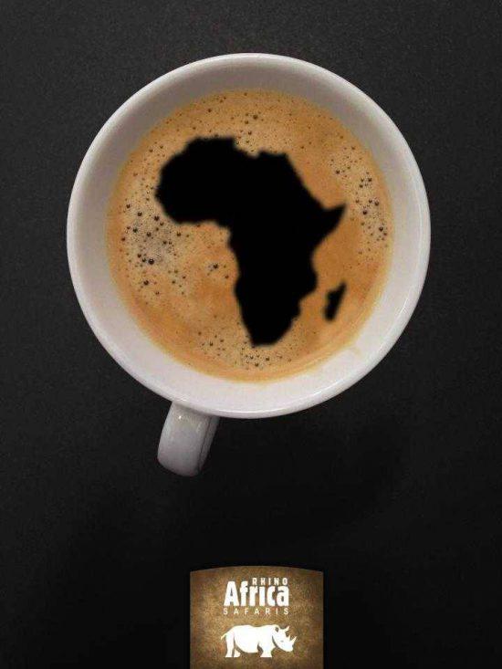 Africa in a mug