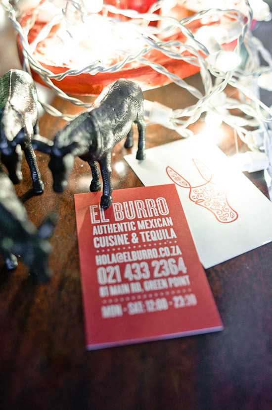El Burro mexican restaurant in Greenpoint Cape Town