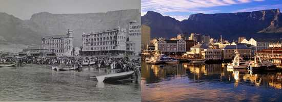 The Waterfront then and now