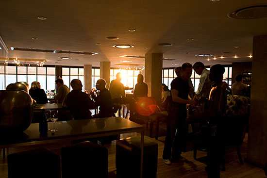 Enjoy sundowners with spectacular sea views from Salt