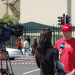 Etv pitched up at last year's Rhino Day March