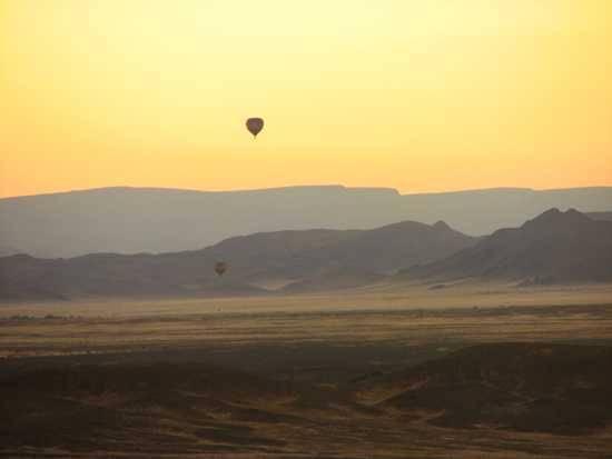 Balloon over Namibia
