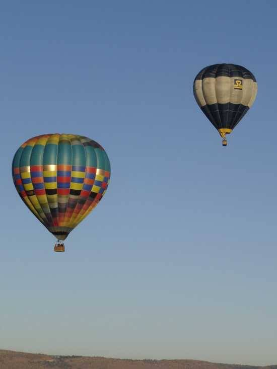 Ballooning in Tswalu Kalahari