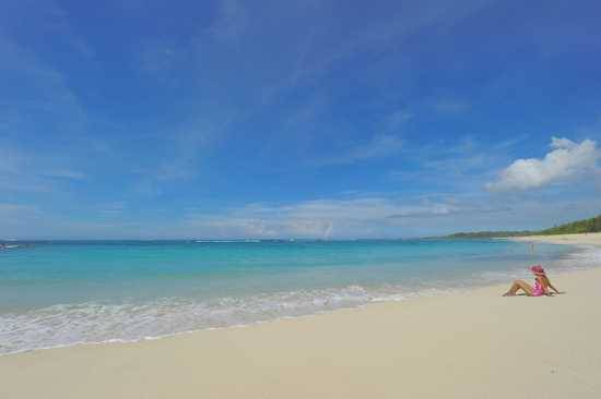 Get in touch with your thoughts alone on a beach in Mauritius