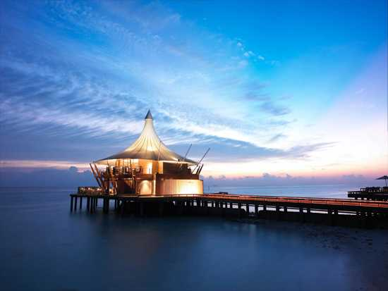 Water based accommodation options in the Maldives
