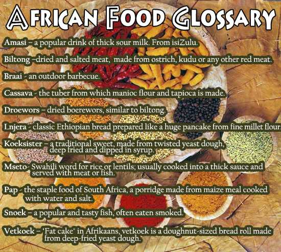 Africa on one plate cape town 39 s top african restaurants for African cuisine menu