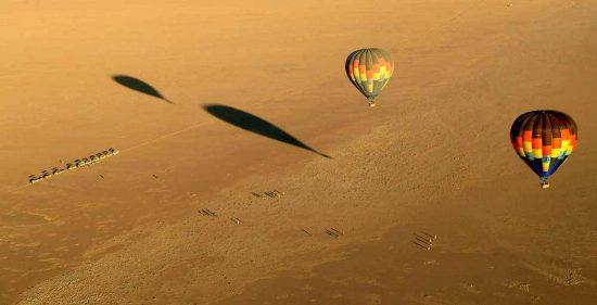 Hot Air Ballooning over Sossusvlei