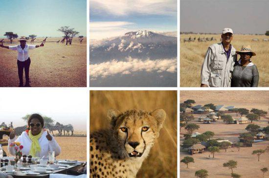 Oprah's African Safari in Singita Grumeti