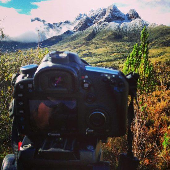 Photographing Du Toitskloof