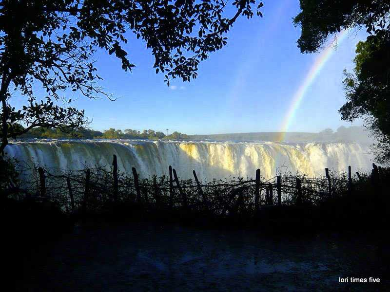 """""""We were advised to wrap our cameras in plastic bags, the flow of water was at it's height, the flood stage happening between March and May with the water at its greatest between April and June. About five million cubic metres per minute pass over the falls. You're going to get wet!"""""""