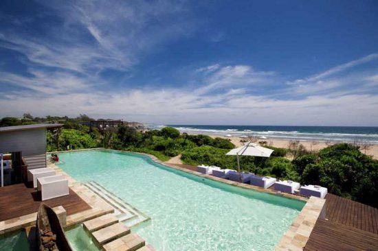 White Pearl Resorts   Pool and Sea
