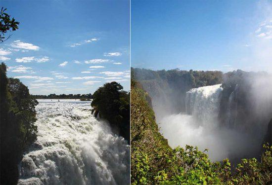 The sensational Victoria Falls