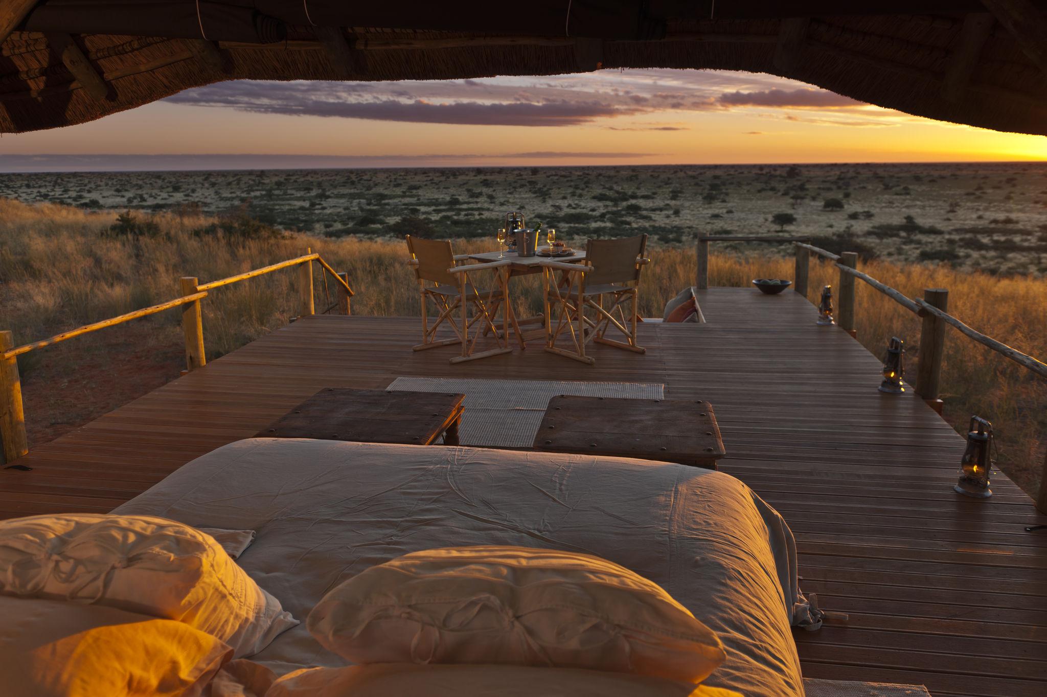 Wildromantik im Tswalu Wildreservat in der südlichen Kalahari