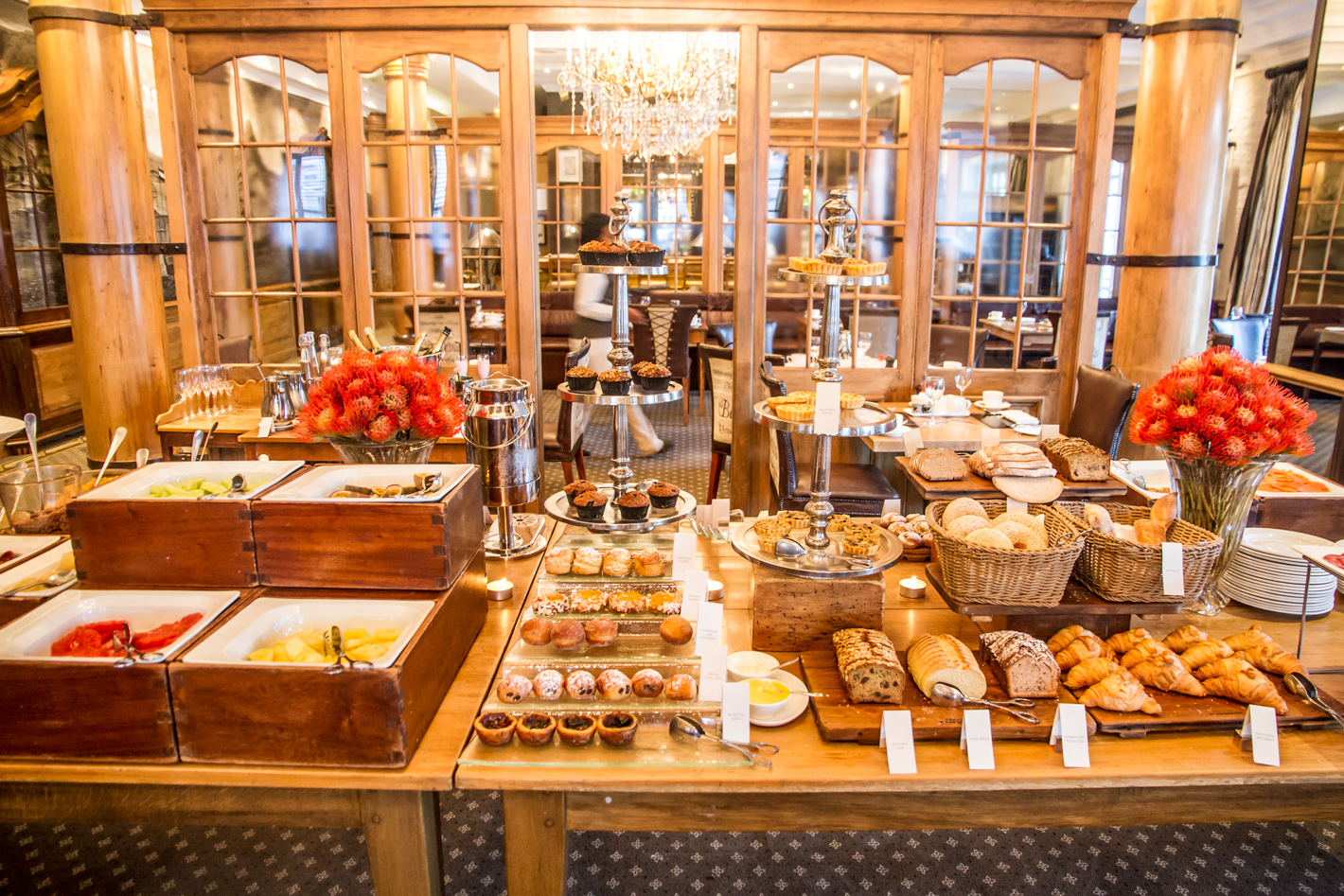 Morning selection at the Cape Grace breakfast buffet