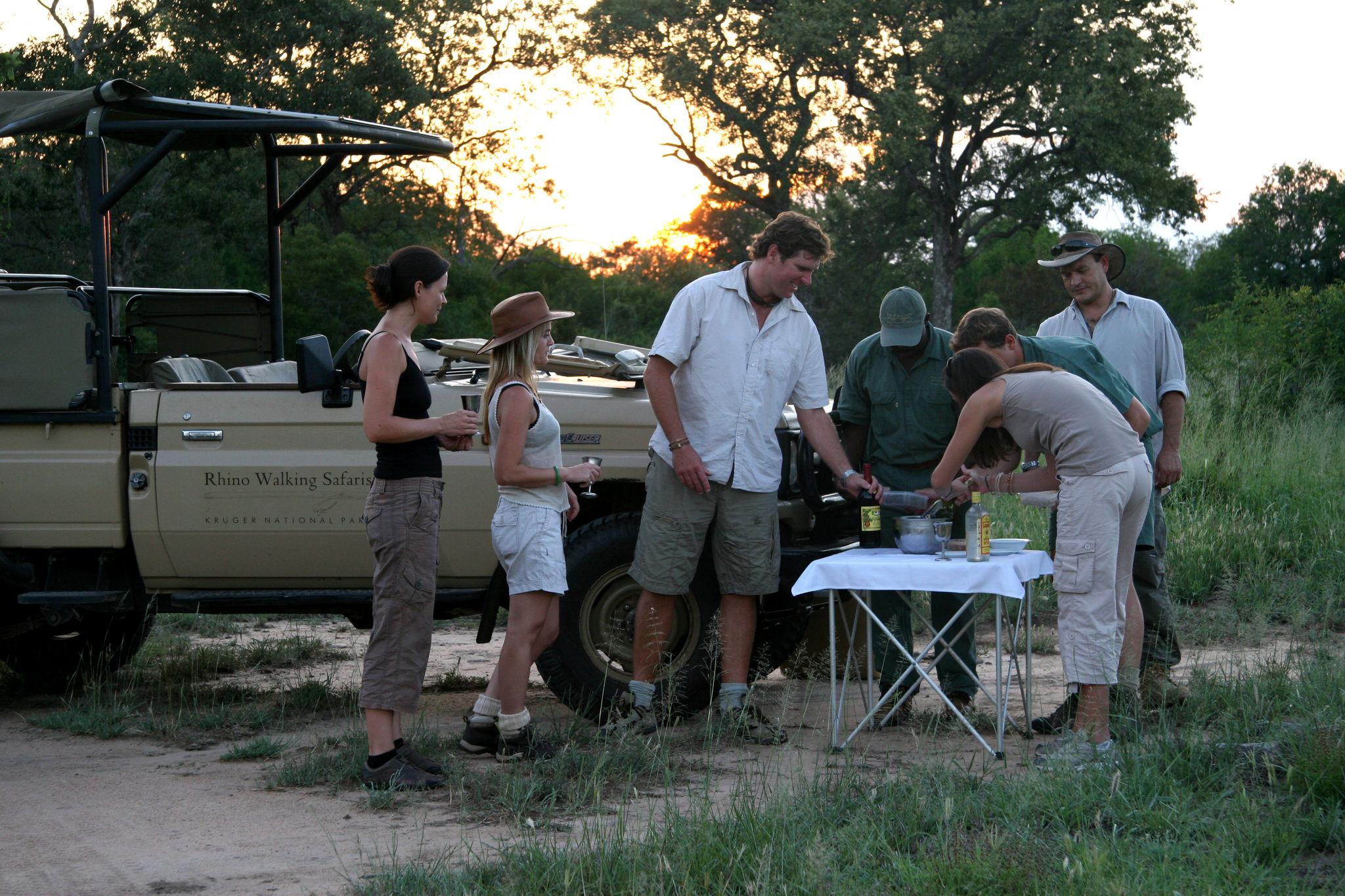 Bush break while on Safari in the Kruger National Park