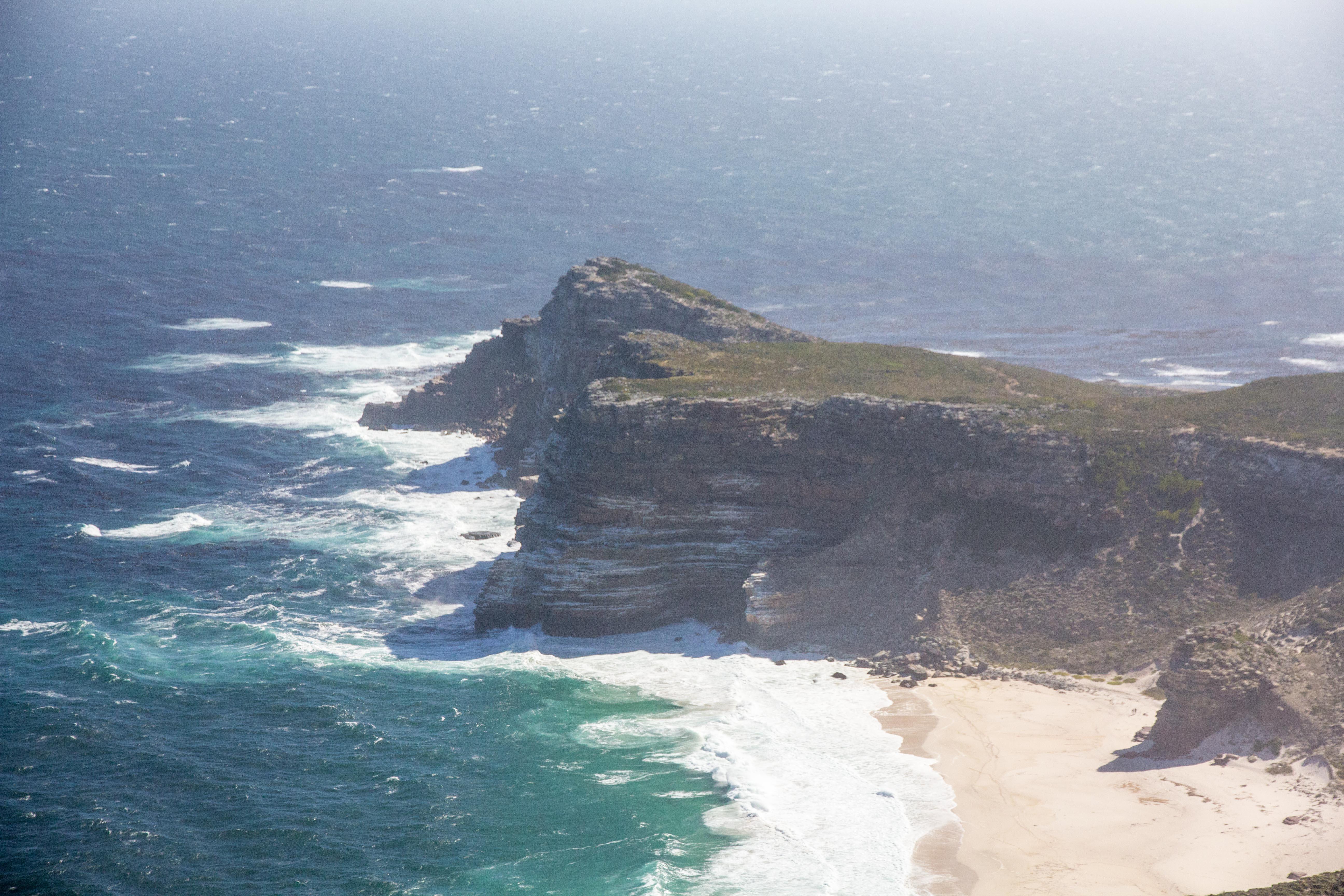 Cap de Bonne-Espérance vu depuis la pointe du Cap