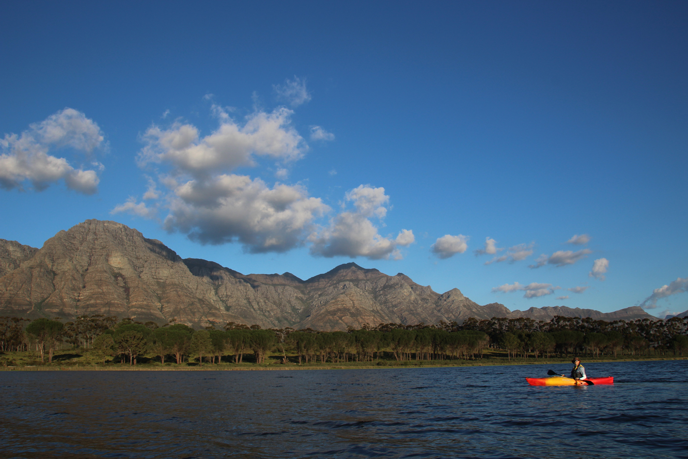 canoeing in South Africa
