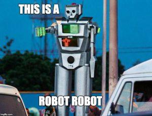 South African slang robot
