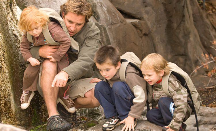 Una de las actividades infantiles en Ulusaba Rock Lodge