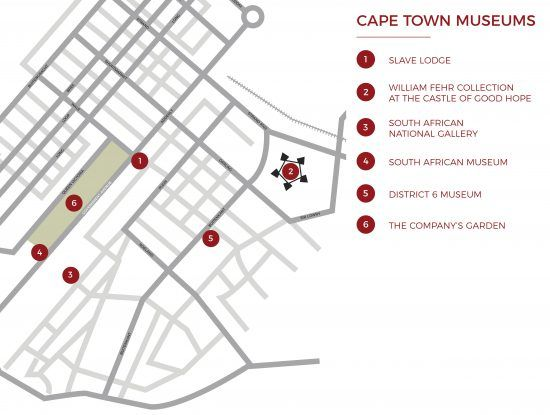 Map Cape Town's museums