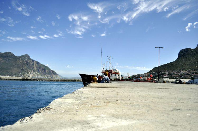 El puerto de Hout Bay