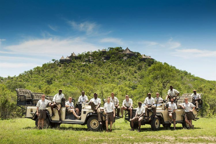 El equipo de guías y rastreadores de Ulusaba