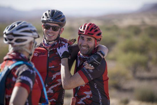 cycling buddies in africa