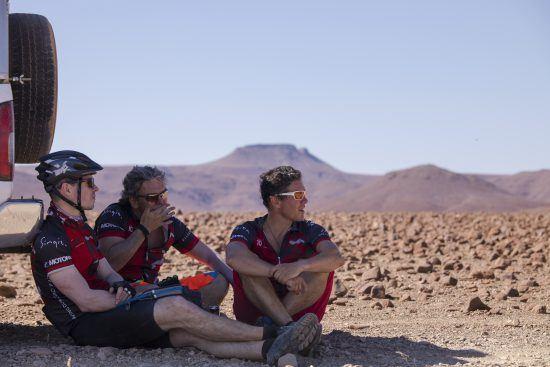 finding shade in desert